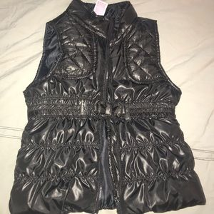 Other - Black Puffy Vest